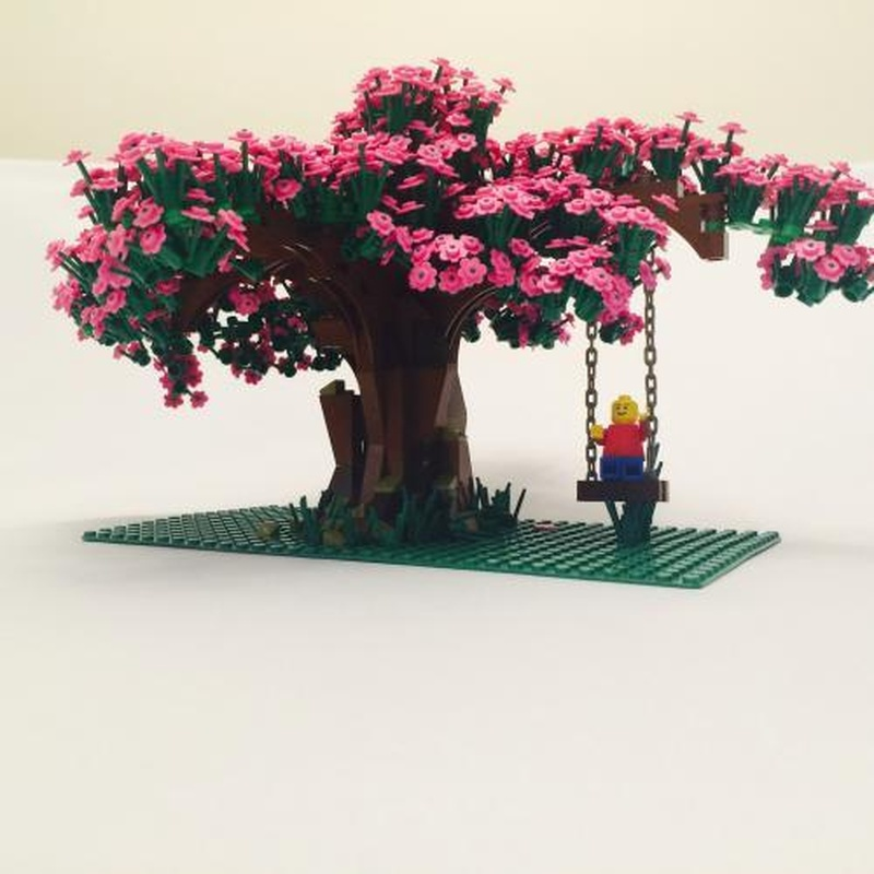 Lego Tree Tutorial - Cherry