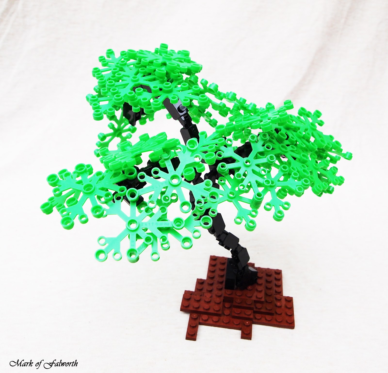 Lego Tree Tutorial - Oak