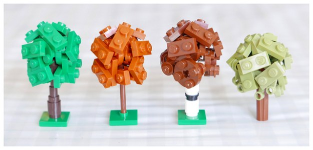 Lego Tree Tutorial - Micro