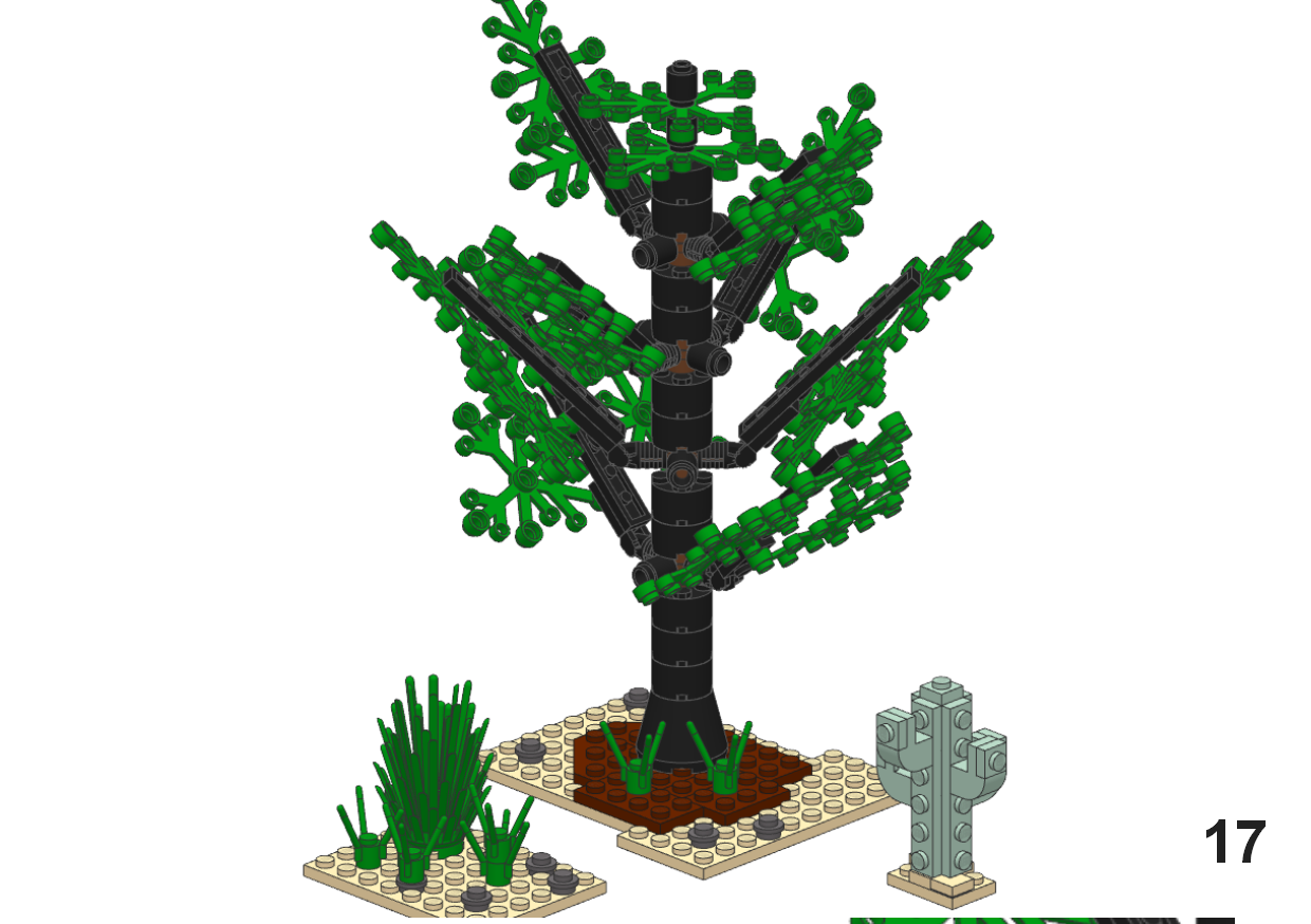 Lego Tree Tutorial - Station Tree