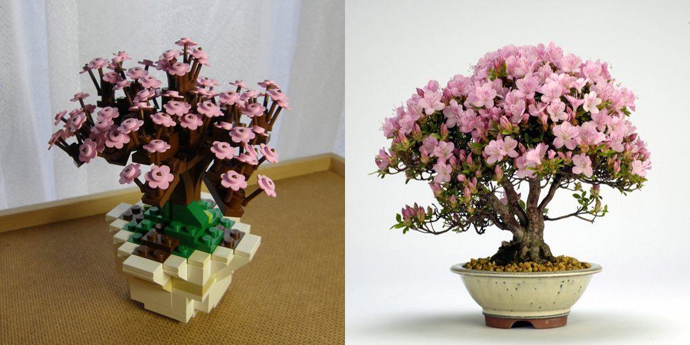 Lego Bonsai Tree - Azalea