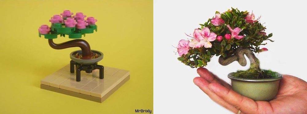 Lego Bonsai Tree - Mame Azalea
