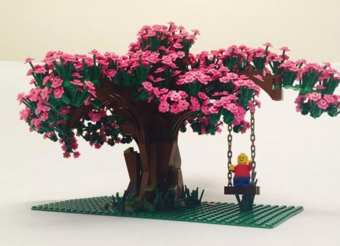 Lego Bonsai Tree - Cherry