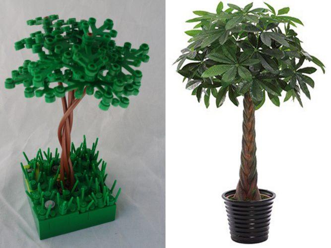 Lego Bonsai Tree - Money Tree