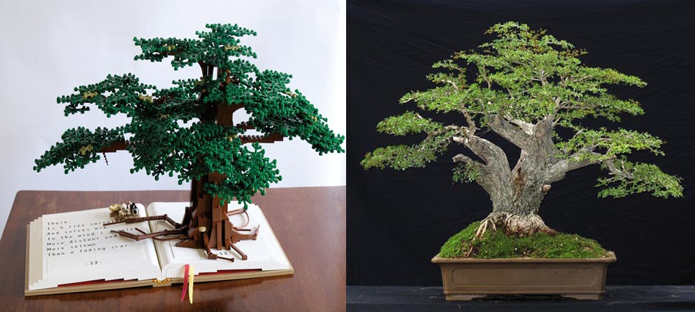 Lego Bonsai Tree - Olive