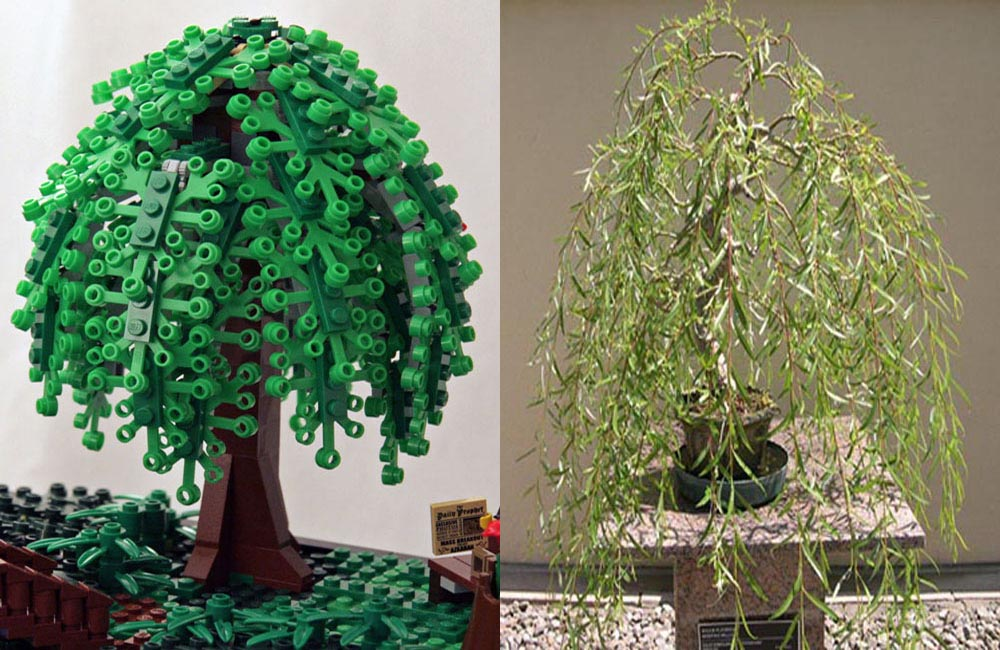 Lego Bonsai Tree - Willow